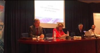 Mesa redonda de partidos sobre la fotovoltaica en el País Vasco, organizada por UNEF